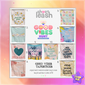 Short Leash Good Vibes Hunt 2020 Key