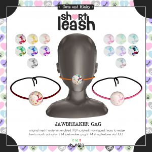 Short Leash Jawbreaker Gag ad