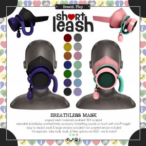 Short Leash Breathless Mask ad