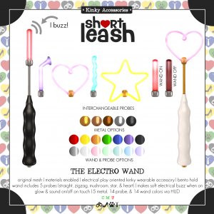 Short Leash The Electro Wand ad