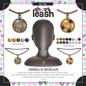 Short Leash Hermias Necklace ad