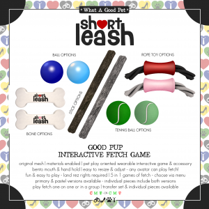 Short Leash Good Pup Interactive Fetch Game ad