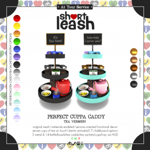 Short Leash Perfect Cuppa Caddy Tea Version ad